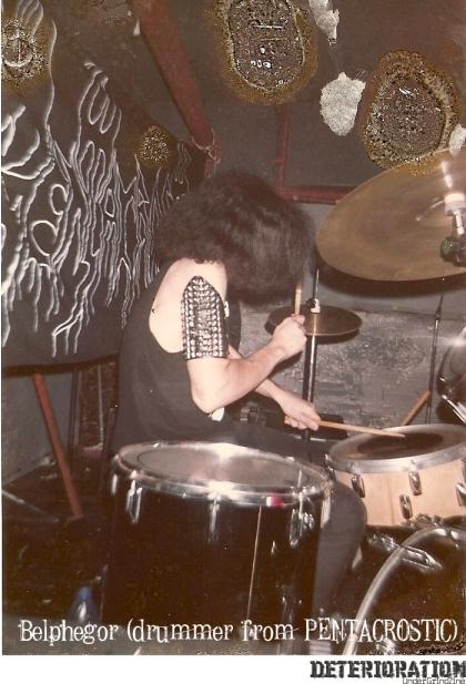 """Belphegor - Drummer from PENTACROSTIC """"Brutal Death Metal"""""""