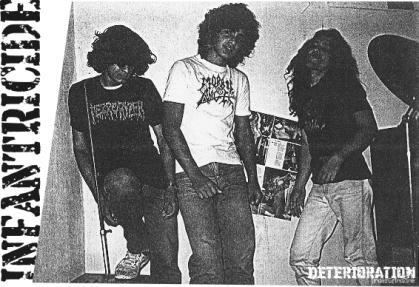 INFANTRICIDE - Death Metal From Franca/SP