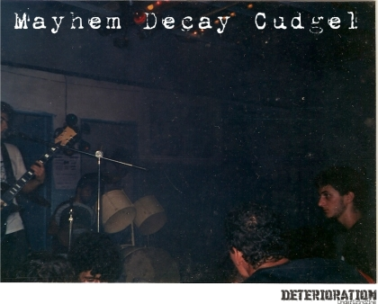 Mayhem Decay Cudgel - Live In Fernandopólis/SP